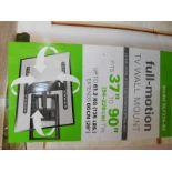 "1 BOXED SANUS 37""-90"" FULL MOTION TV WALL MOUNT RRP £89.99"