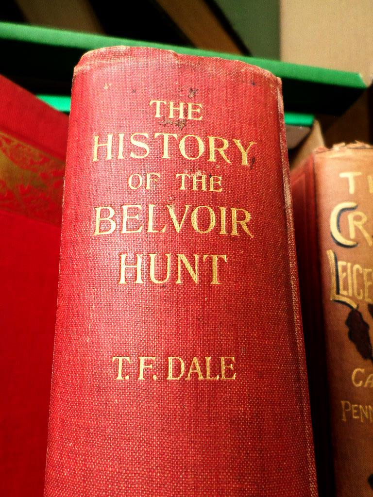 5 valuable Hunting vols. incl. 'The History of the Belvoir Hunt', T.F. - Image 2 of 4