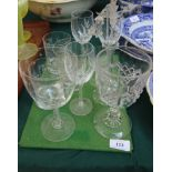 Selection of mixed glass incl.