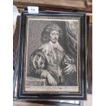 2 early framed black and white portraits each in contemporary frame,
