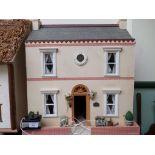 APPLETREE COTTAGE - A fine homemade dolls house, 12 volt.
