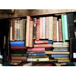 Box of books on mixed subjects