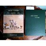 Vol. 'Just Dogs' with sketches by K.F. Barker, 5th edition and a vol.