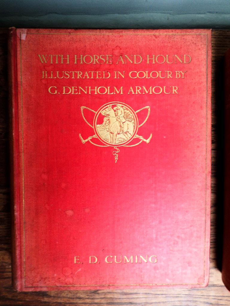 Vol. 'Bridle & Brush' by George Denholm Armour, first edition 1937, vol. - Image 2 of 4
