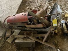 VARIOUS TRACTOR PARTS