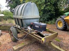 FUEL BOWSER AND ELECTRIC PUMP