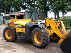 JCB 531-70 LOADALL, 4,000 HRS, REG NO: FX61 CWU - FRONT/REAR (17.