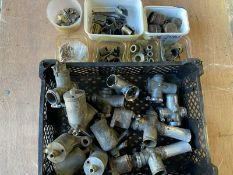 A quantity of Amal carburettors, float bowls and spares.