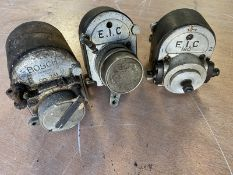 Two early EIC magnetos and a Bosch ZA1 example.