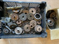 A quantity of timing gears, believed Douglas.