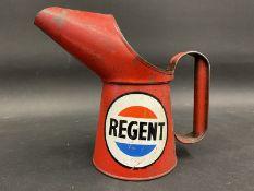 A Regent pint oil measure.