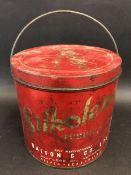 A Silkolene Lubricants grease tin.
