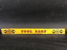A Dunlop Tool Bags shelf strip.