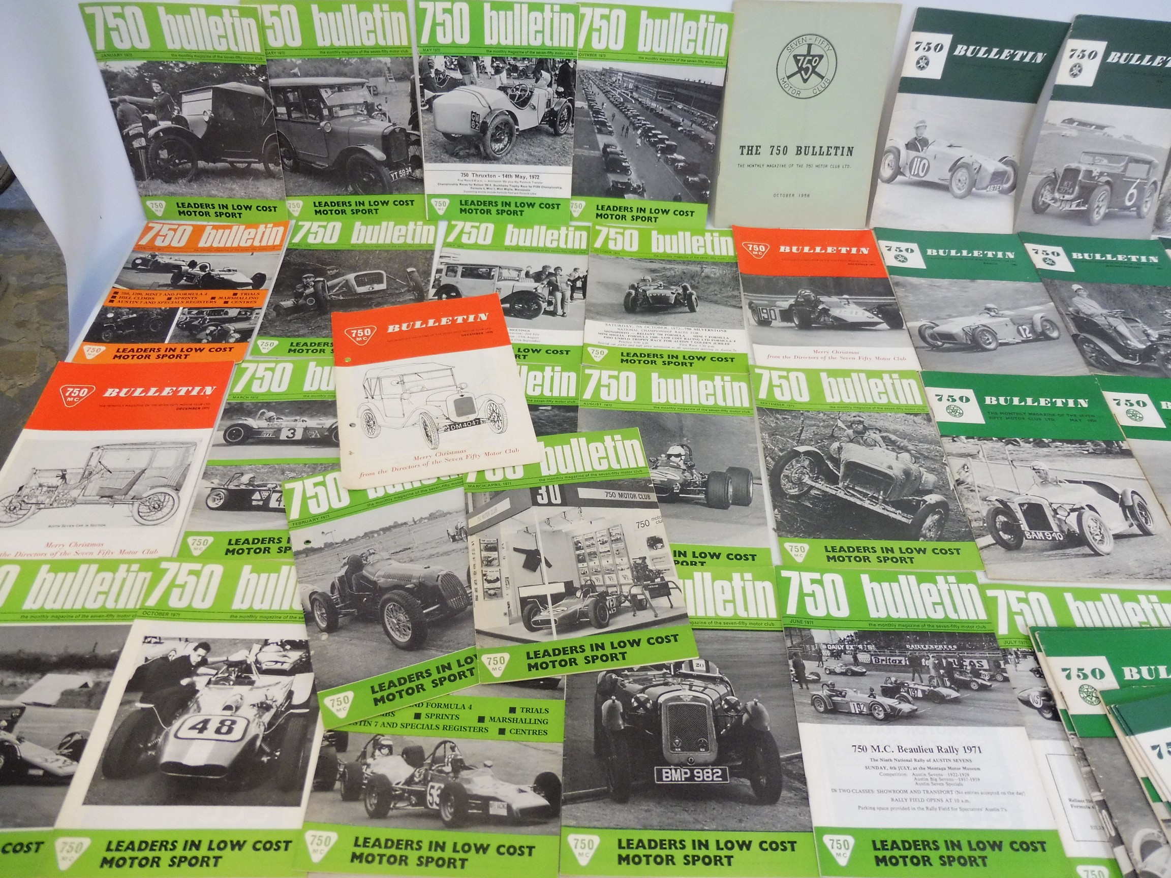 A small collection of 750 Club bulletins and related ephemera, various issues from 1958 including - Image 2 of 3