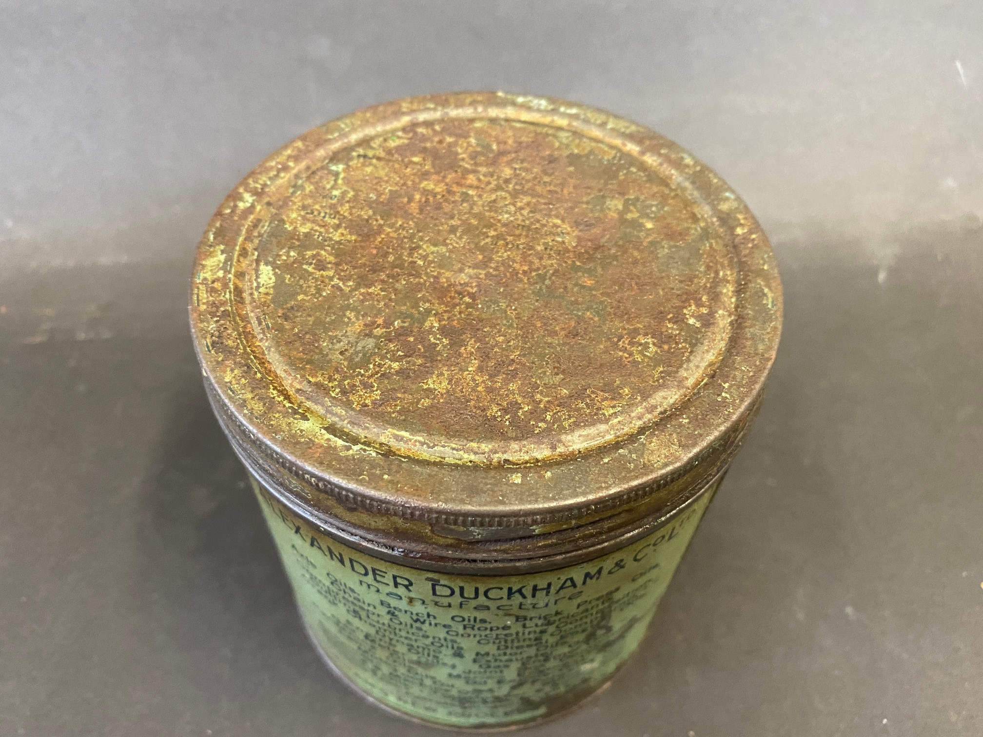 A Duckham's Adcol grease tin. - Image 4 of 5