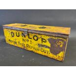 A Dunlop No.1 Motor Tyre repair outfit tin.