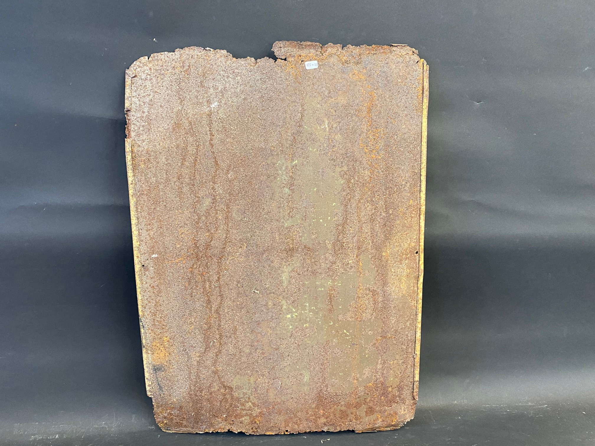 """A Redex tin advertising sign, 17 1/2 x 25"""". - Image 3 of 3"""