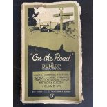 A Dunlop 'On The Road' guide book for 1926.