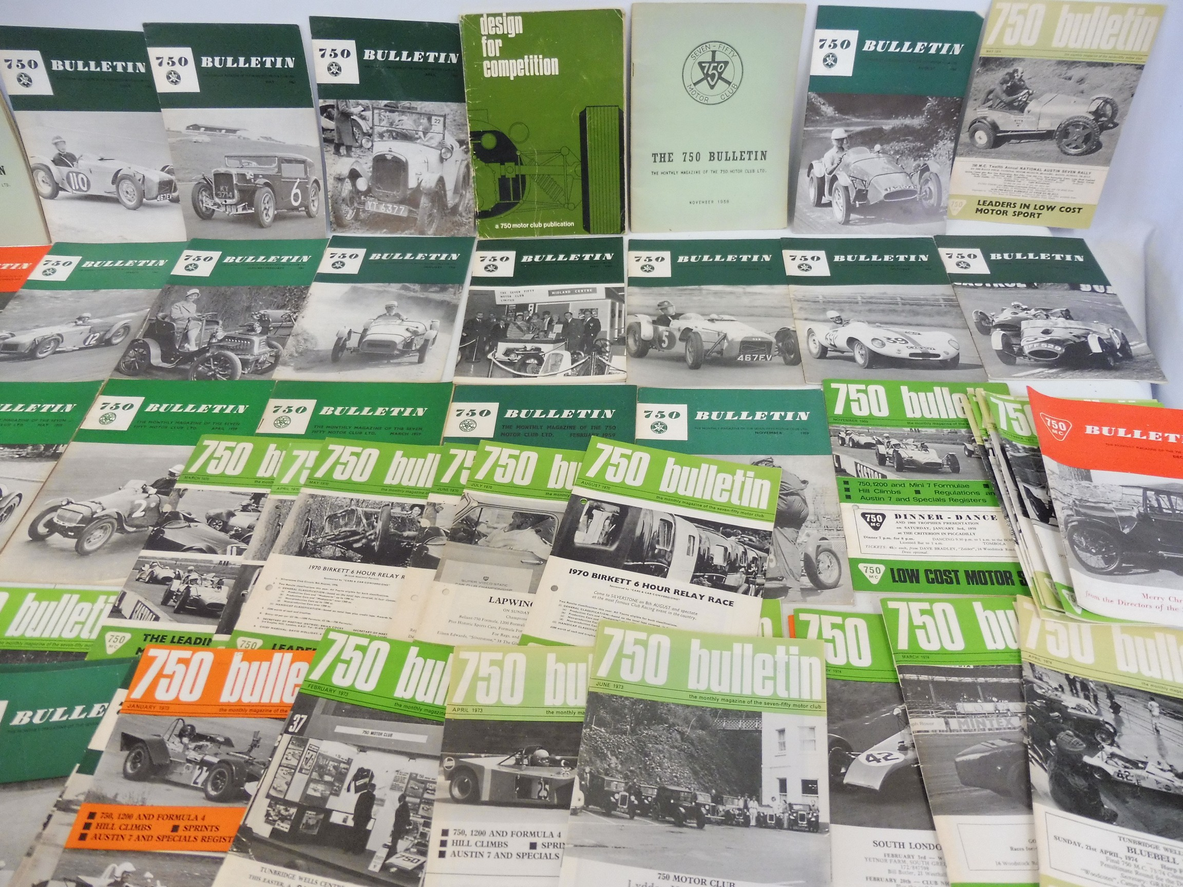 A small collection of 750 Club bulletins and related ephemera, various issues from 1958 including - Image 3 of 3