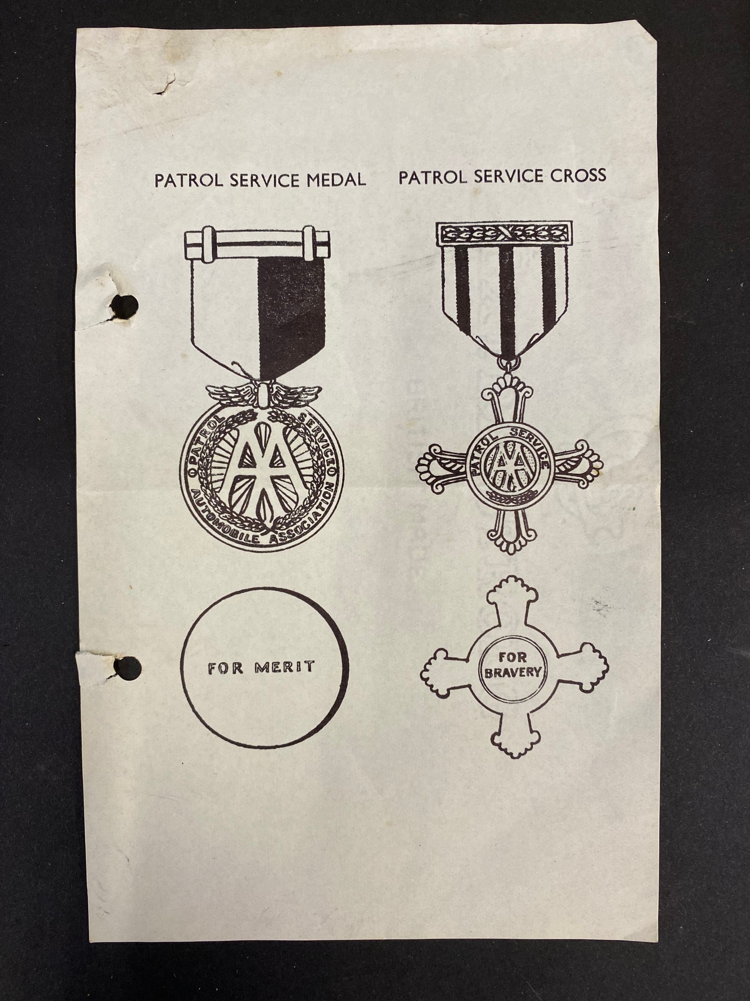 An AA patrol service medal and a patrol service cross, both in boxes of issue, awarded to Patrol - Image 5 of 8