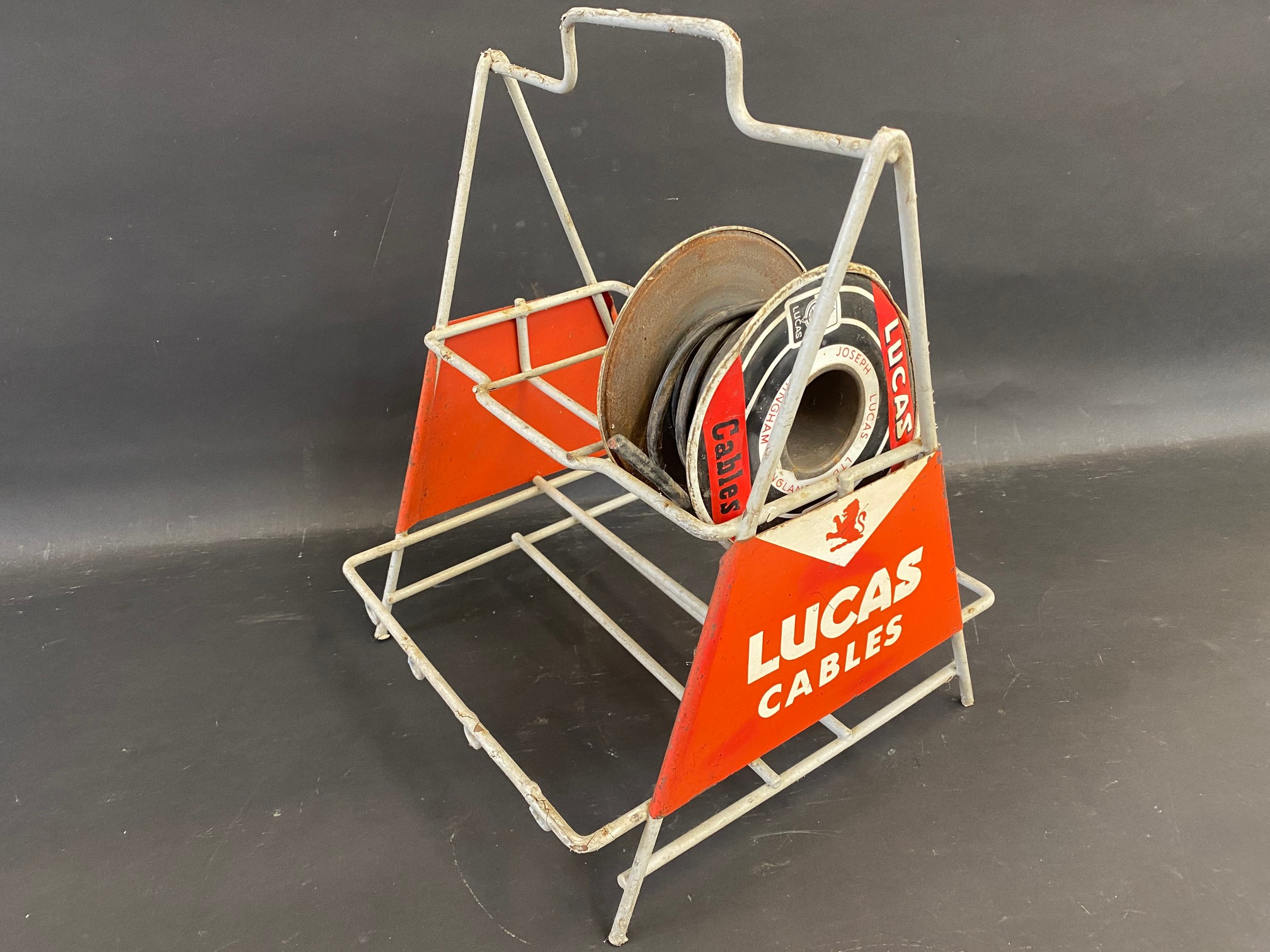 A Lucas Cables garage forecourt rack. - Image 2 of 2