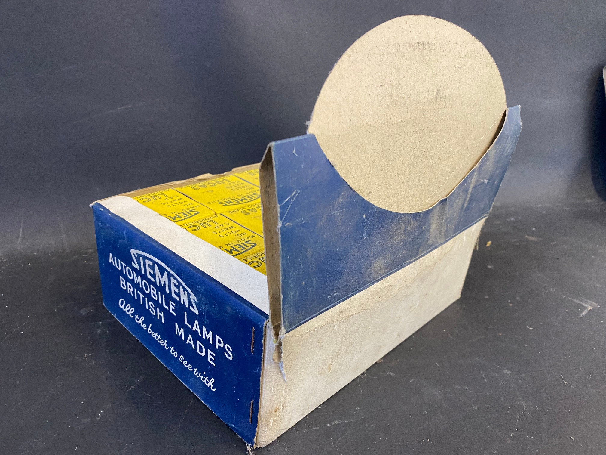 A counter top dispensing box for Siemens Automobile Lamps. - Image 2 of 2