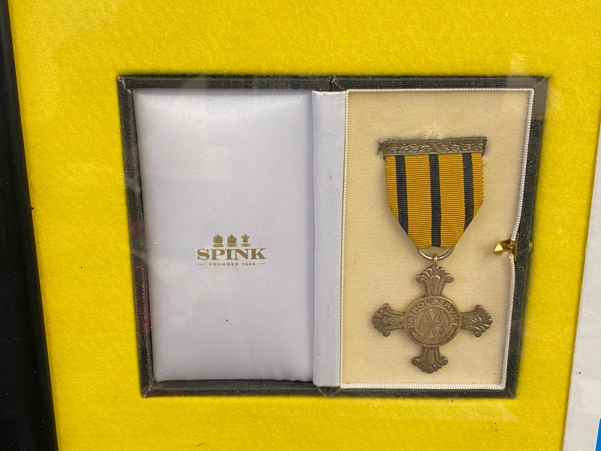An AA patrol service medal and a patrol service cross, both in boxes of issue, awarded to Patrol - Image 2 of 8