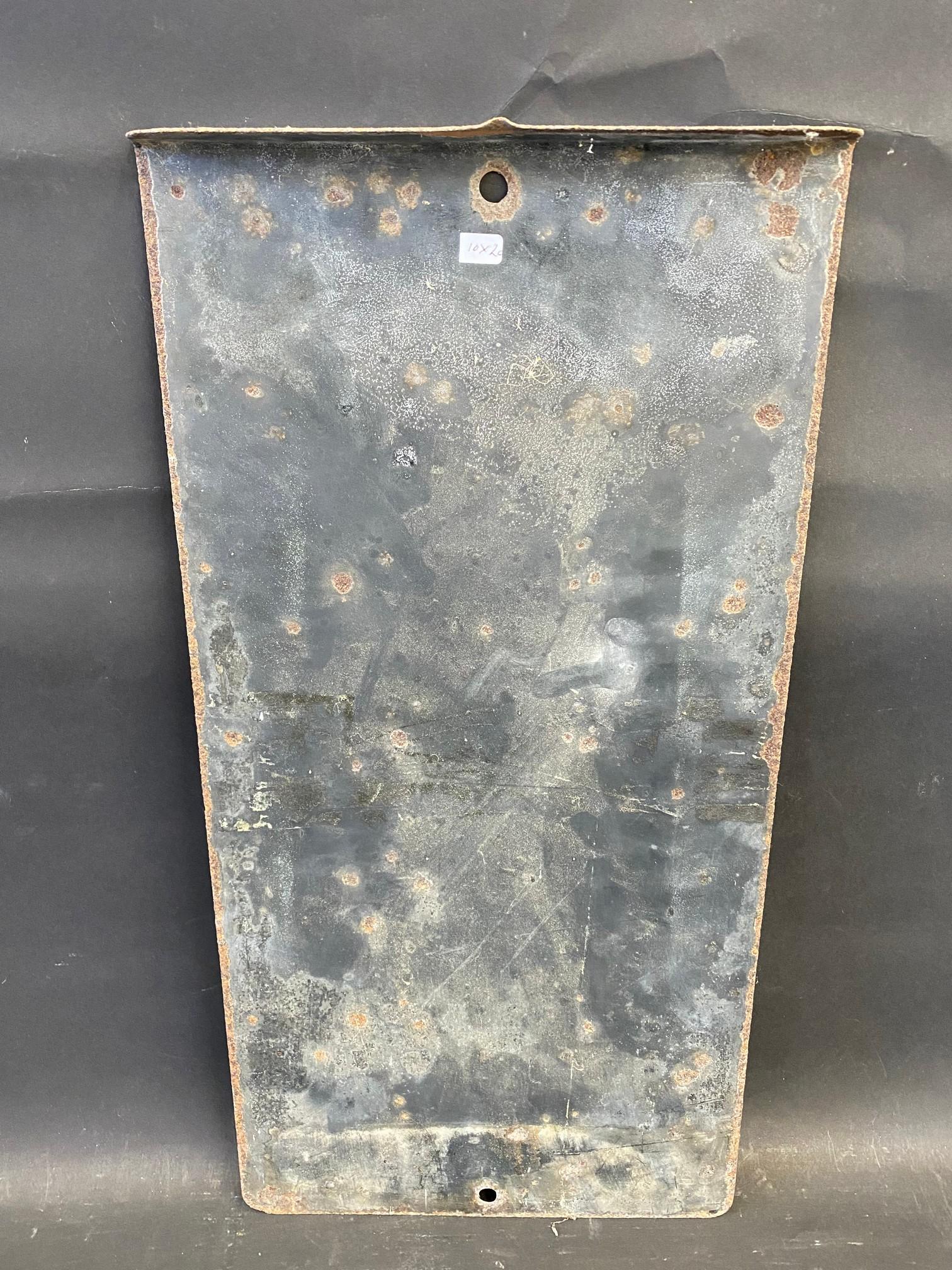 "An RAC Box 1 mile rectangular enamel sign, 10 x 20"". - Image 4 of 4"