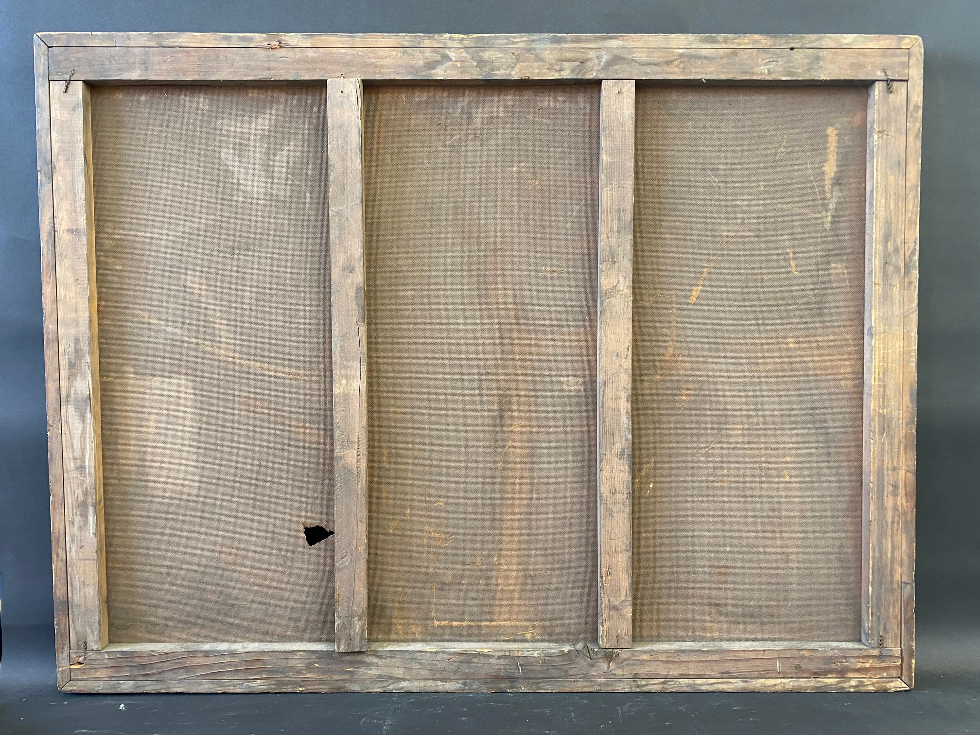 An early garage wooden framed advertising sign for Austin models, car or commercial (recently - Image 4 of 4