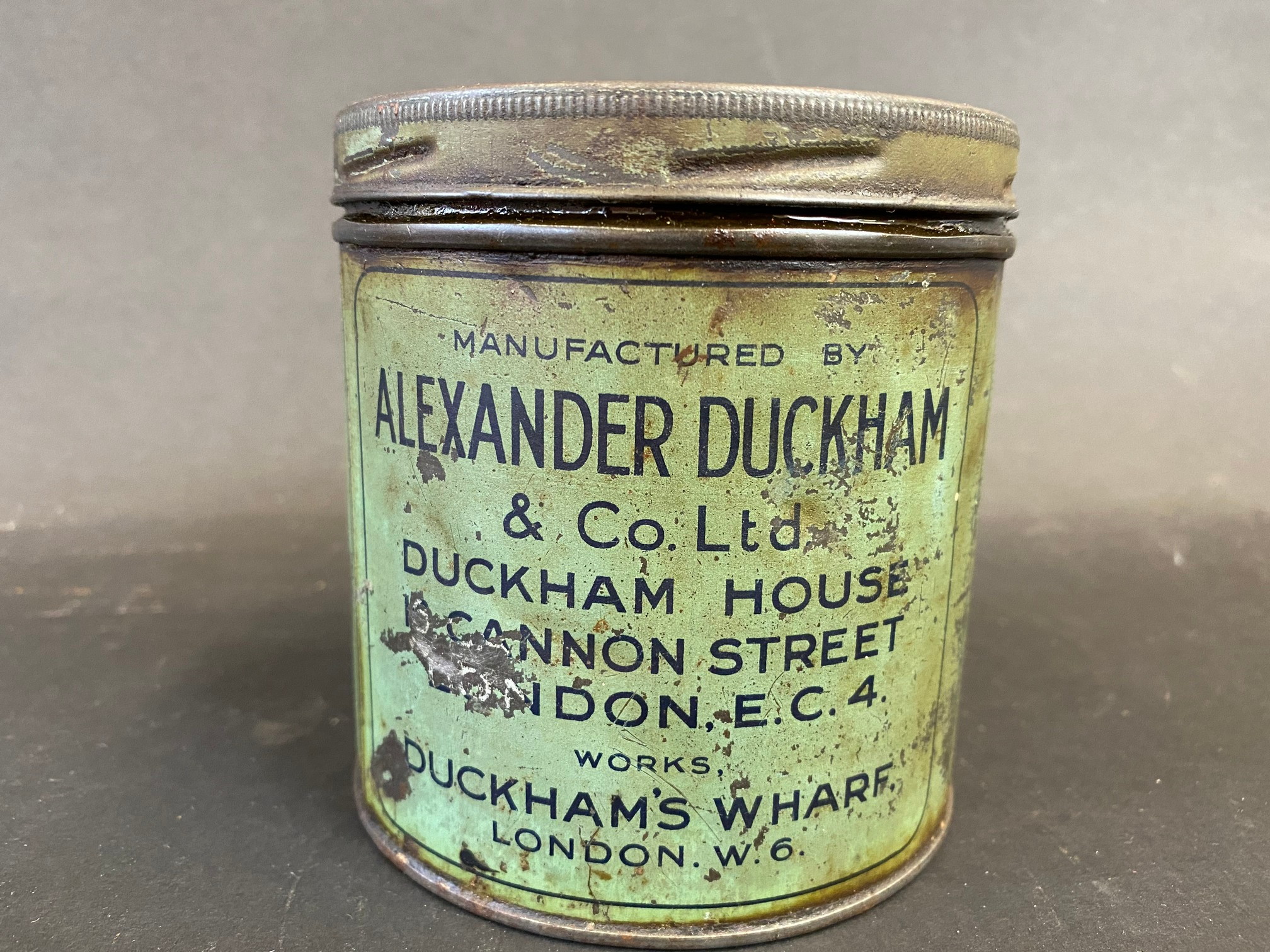 A Duckham's Adcol grease tin. - Image 2 of 5