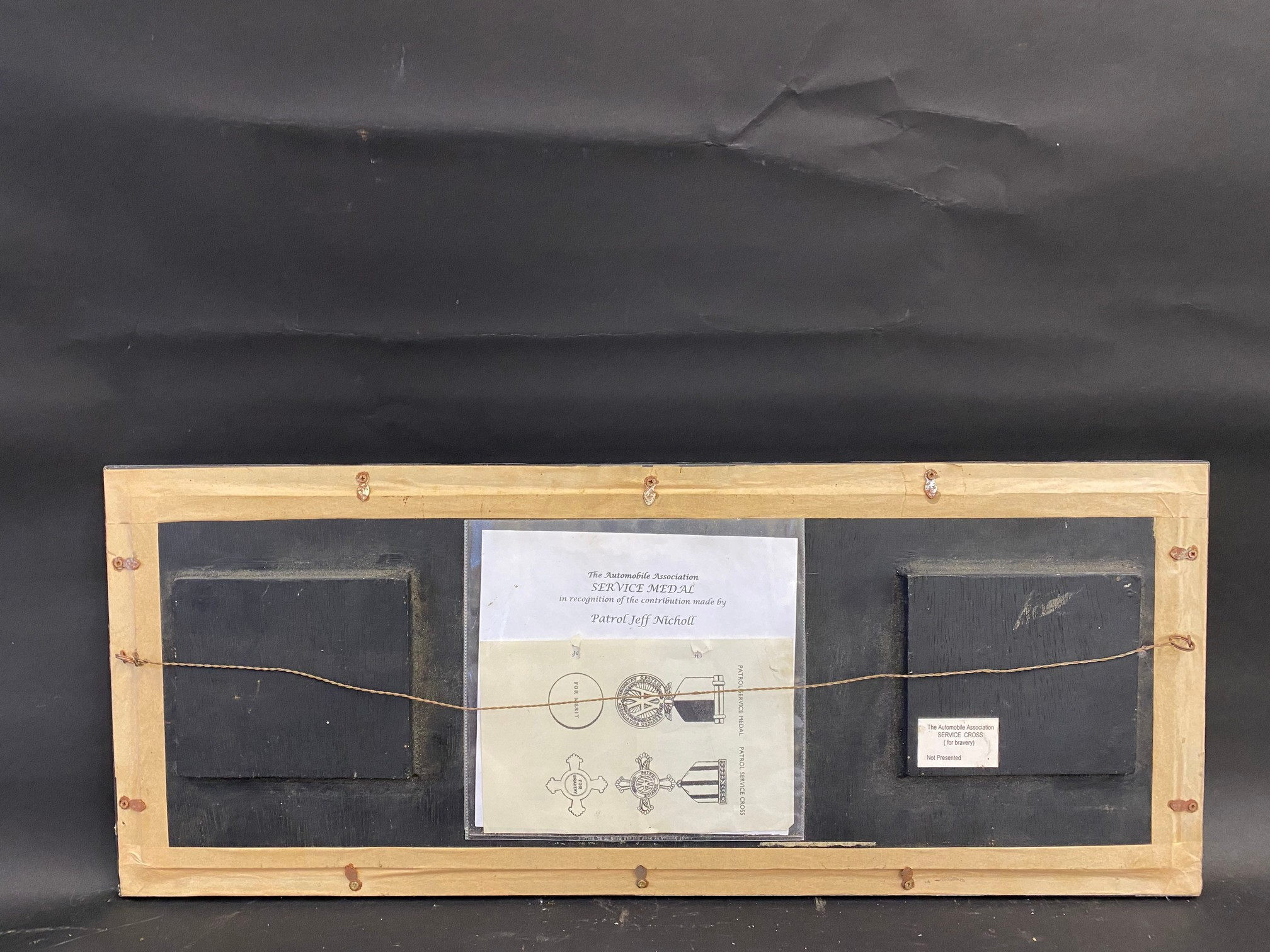 An AA patrol service medal and a patrol service cross, both in boxes of issue, awarded to Patrol - Image 7 of 8