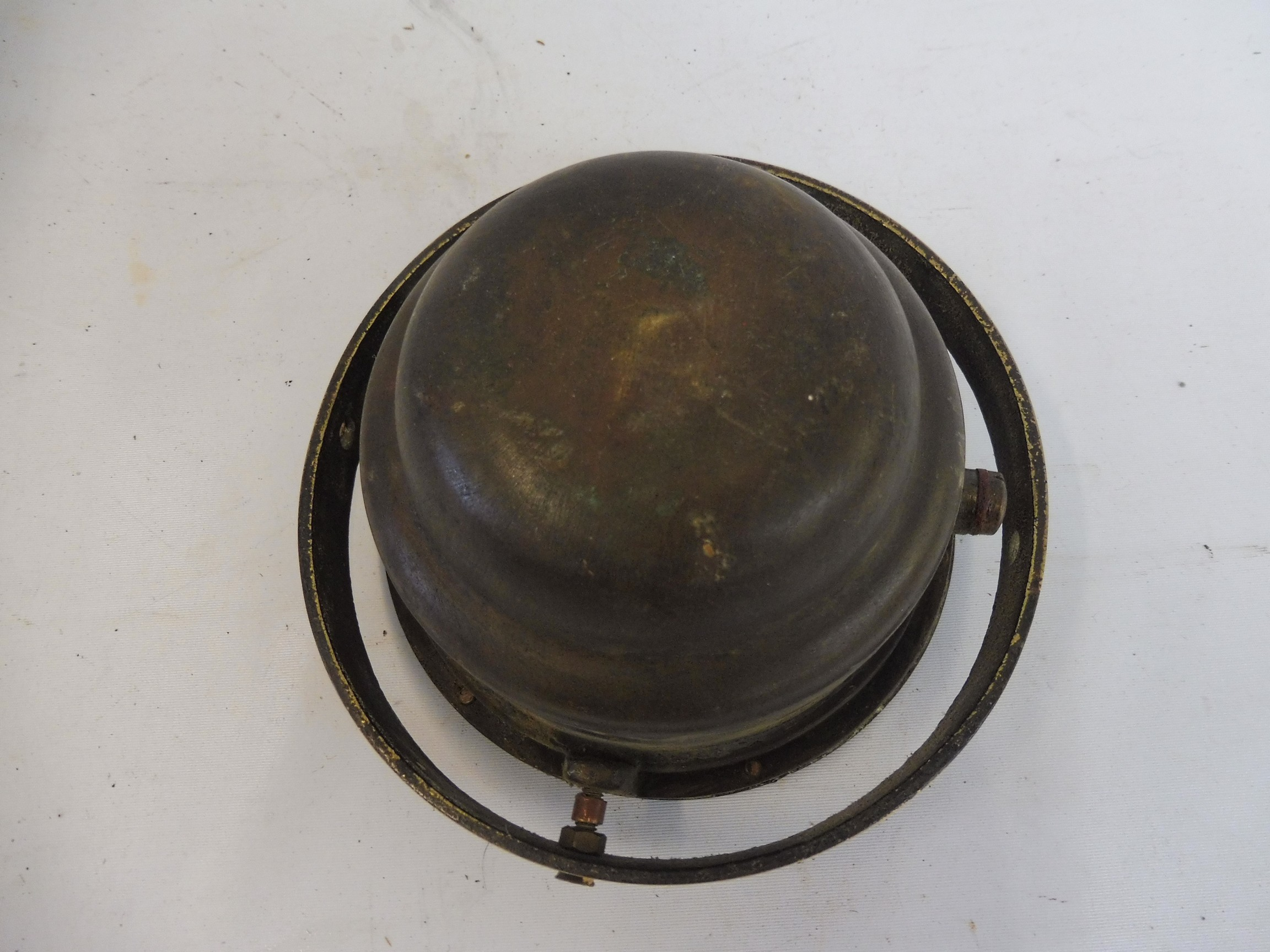 A brass binnacle compass by Lily and Reynolds. - Image 2 of 2