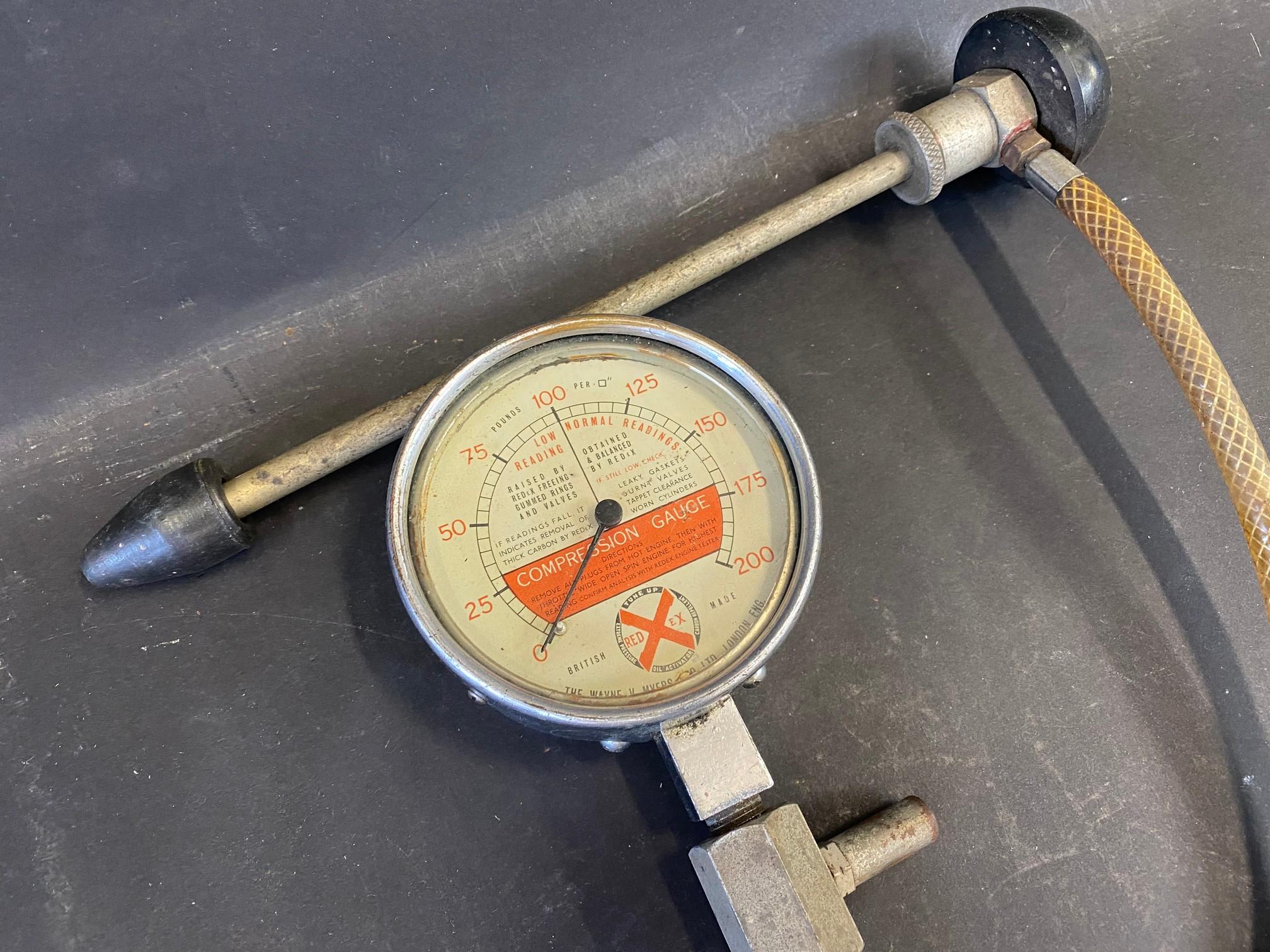 A Redex compression gauge. - Image 2 of 2