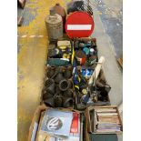 A large quantity of assorted automobilia and collectables.