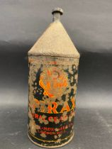 A rare and early Shell Spirax gear oil tin.