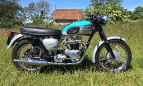 1961 Triumph 650cc T120R Bonneville