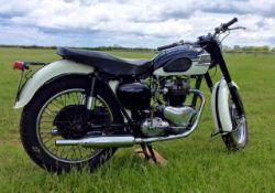 1958 Triumph Tiger T110 650cc