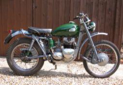 1964 Triumph Greeves TES Mk.II 500cc Trials Bike