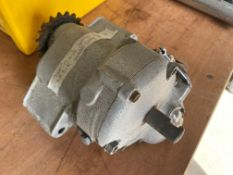 A Triumph 4-speed close ratio racing gearbox.