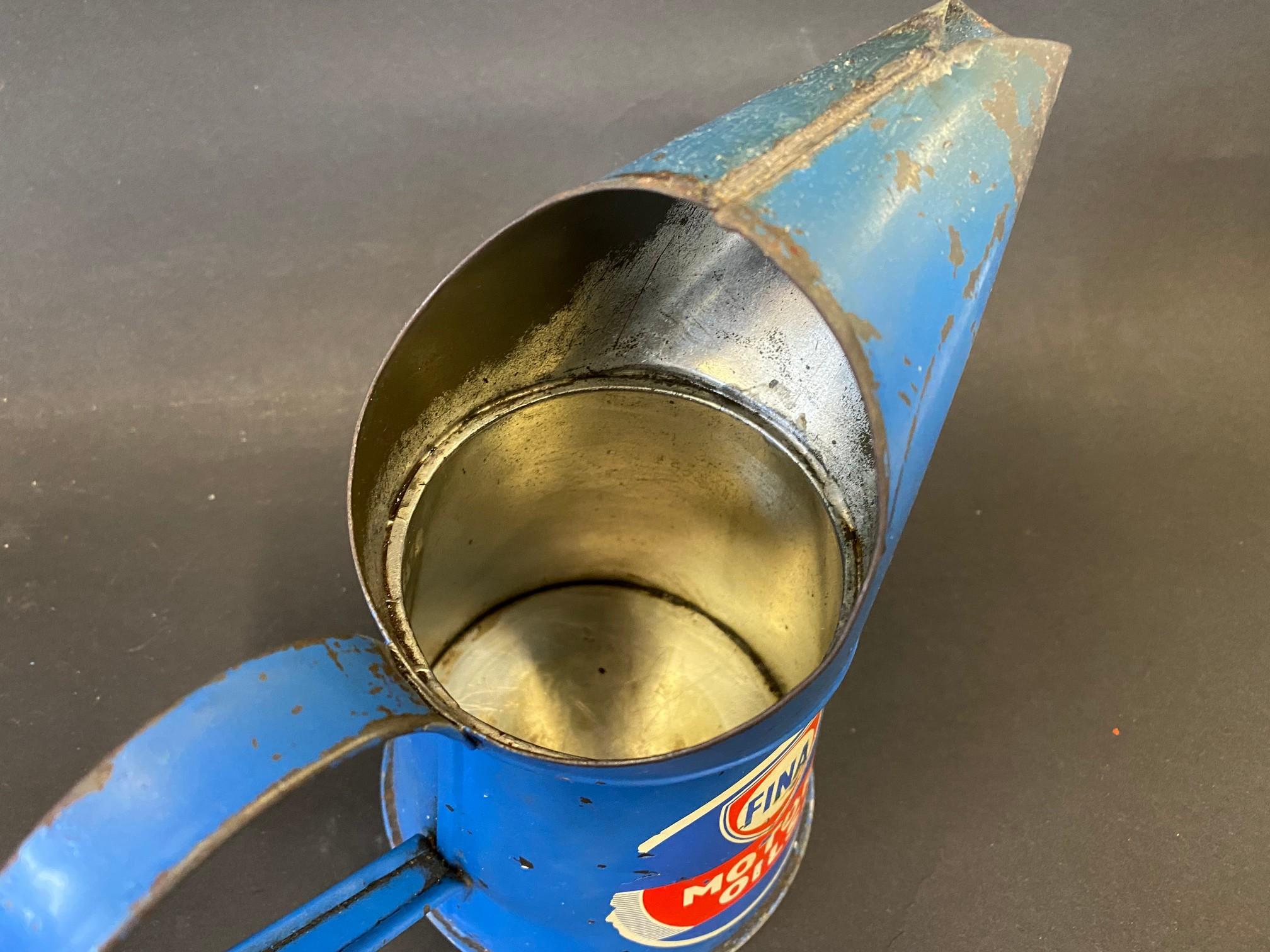 A Fina Motor Oils pint measure. - Image 3 of 4