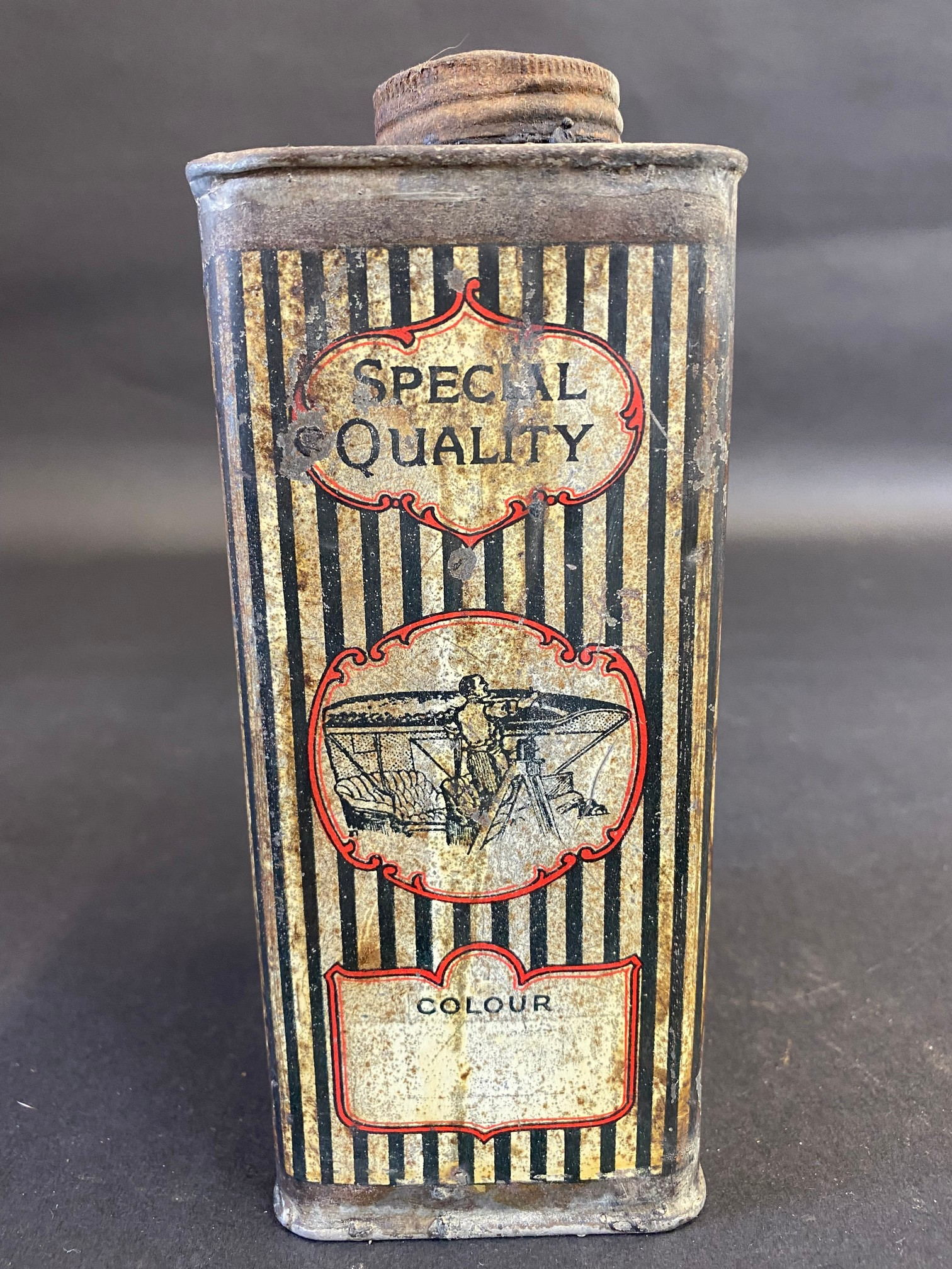 An Accordion Flexible Paint rectangular quart can. - Image 2 of 6