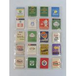 A mixed selection of petrol/oil company branded books of matches to include Esso, Regent, Power, B.