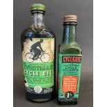 A Wakefield Everyman Cycle Oil bottle plus a second for Cycle all purpose cycle cleaner.