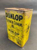 An early Dunlop French chalk 1lb rectangular tin.