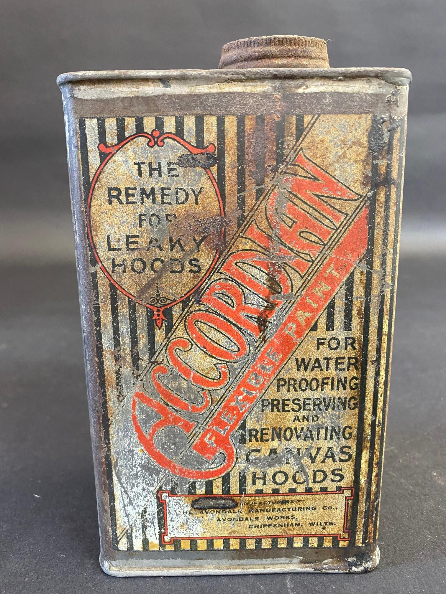 An Accordion Flexible Paint rectangular quart can. - Image 3 of 6