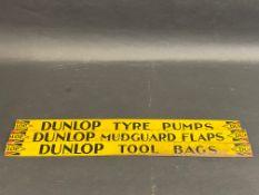 Three Dunlop tin shelf strips.