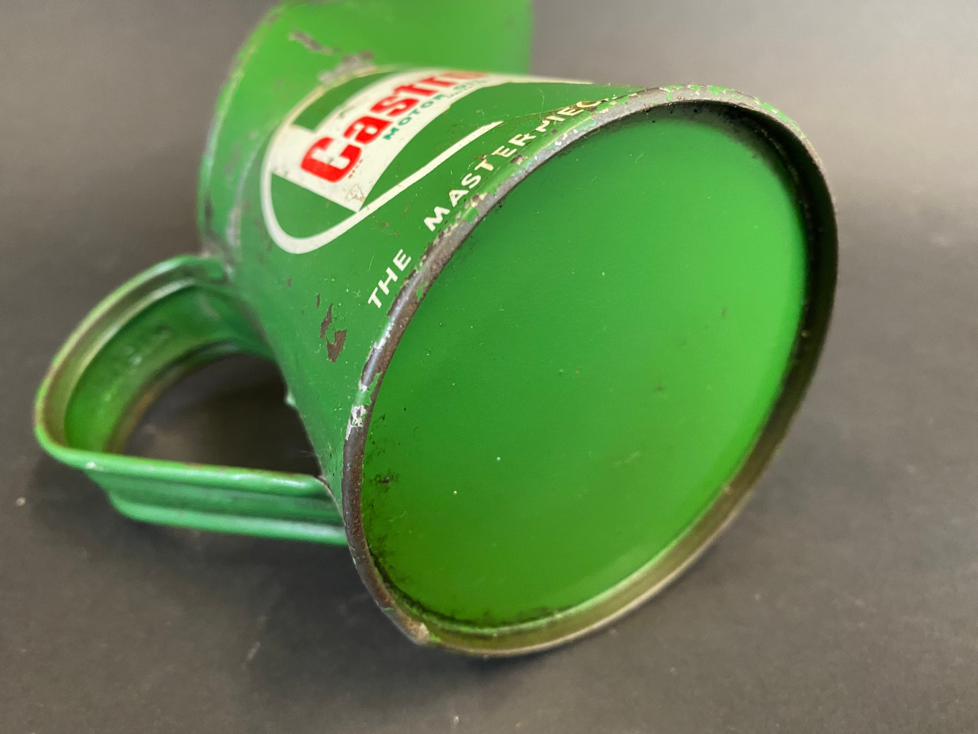 A Castrol Motor Oil half pint measure, dated 1965. - Image 4 of 4