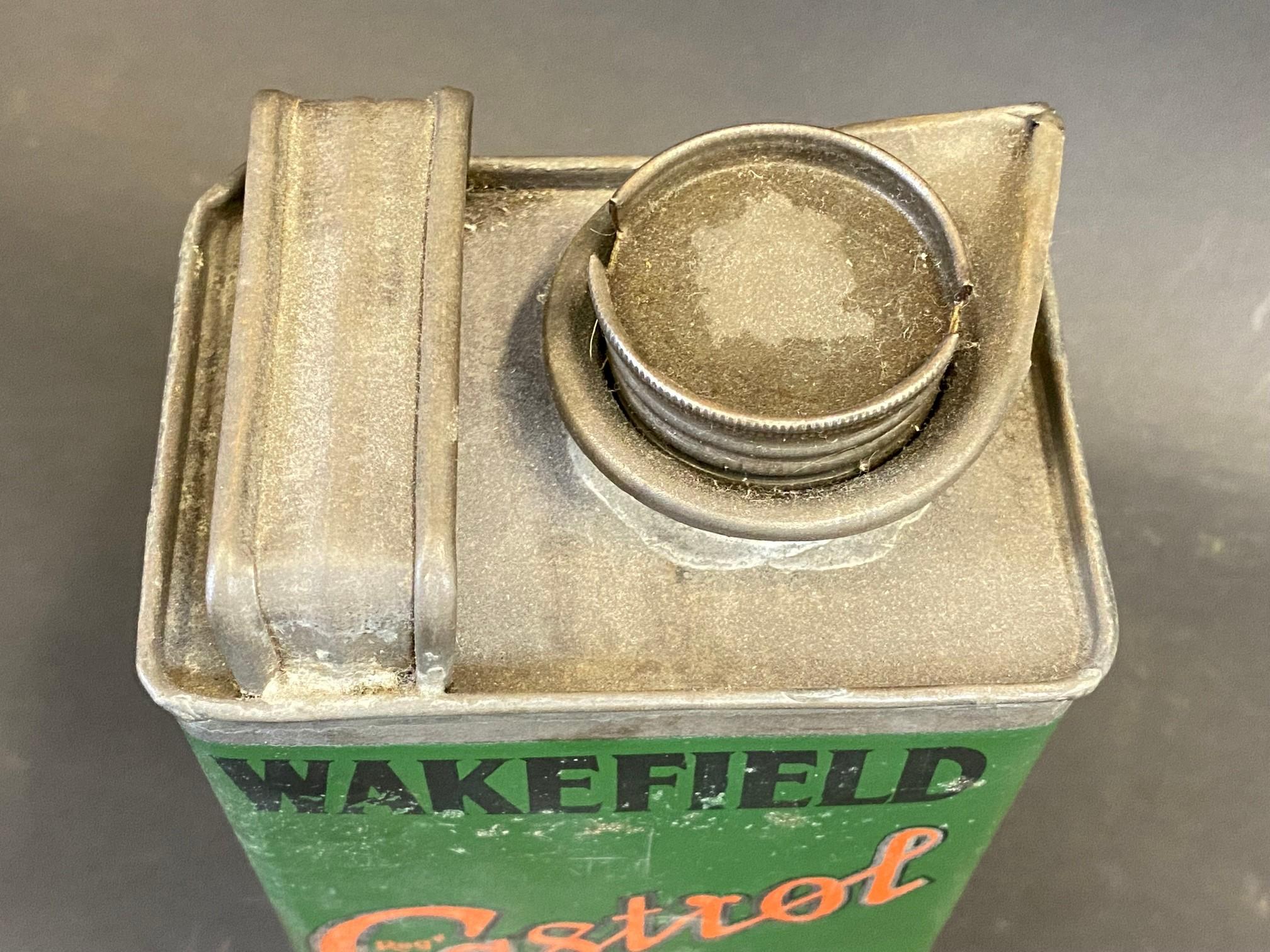 A Wakefield Castrol Motor Oil 'C Summer' grade rectangular quart can. - Image 3 of 4