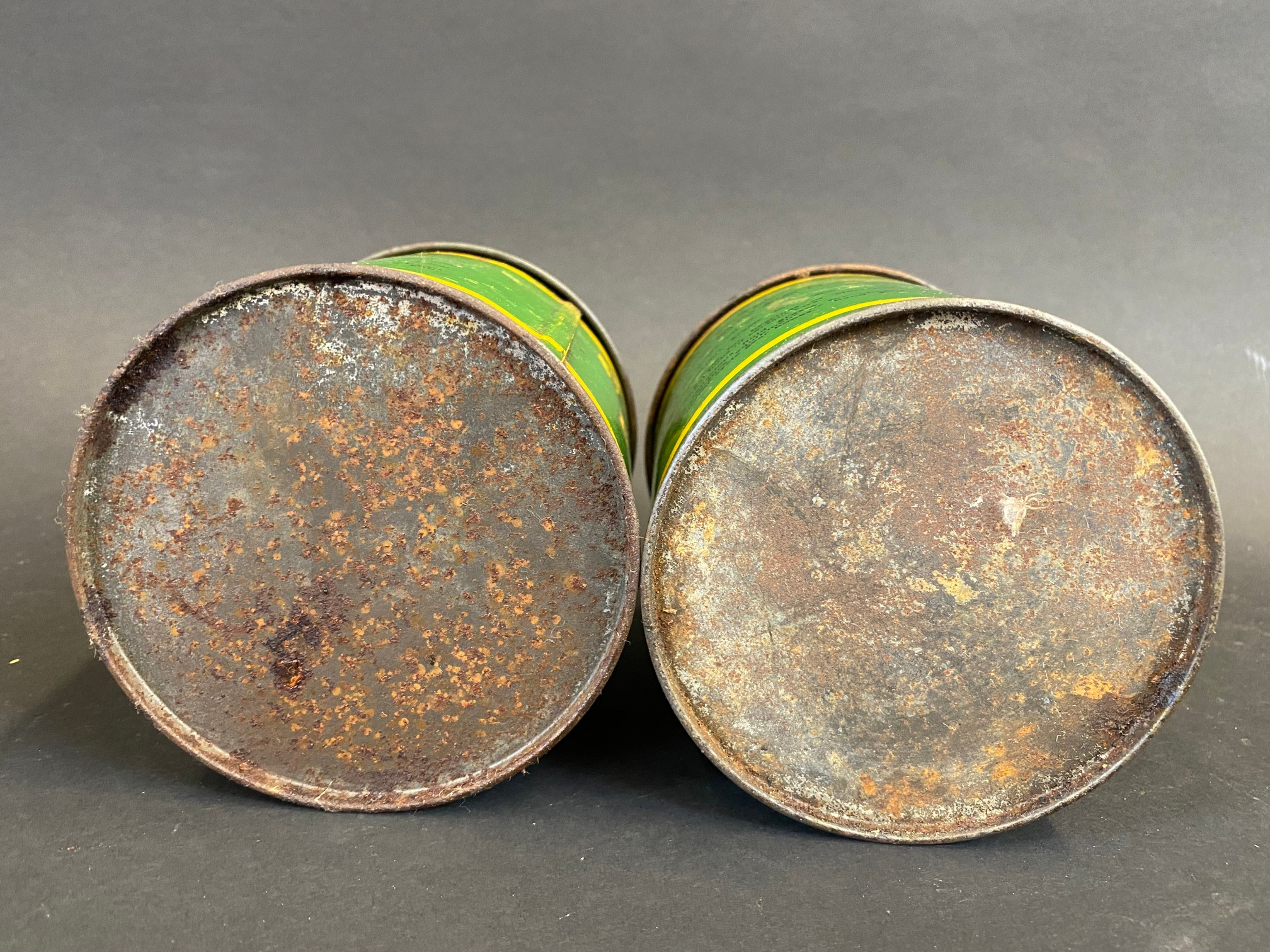 Two BP Energrease tins. - Image 4 of 4