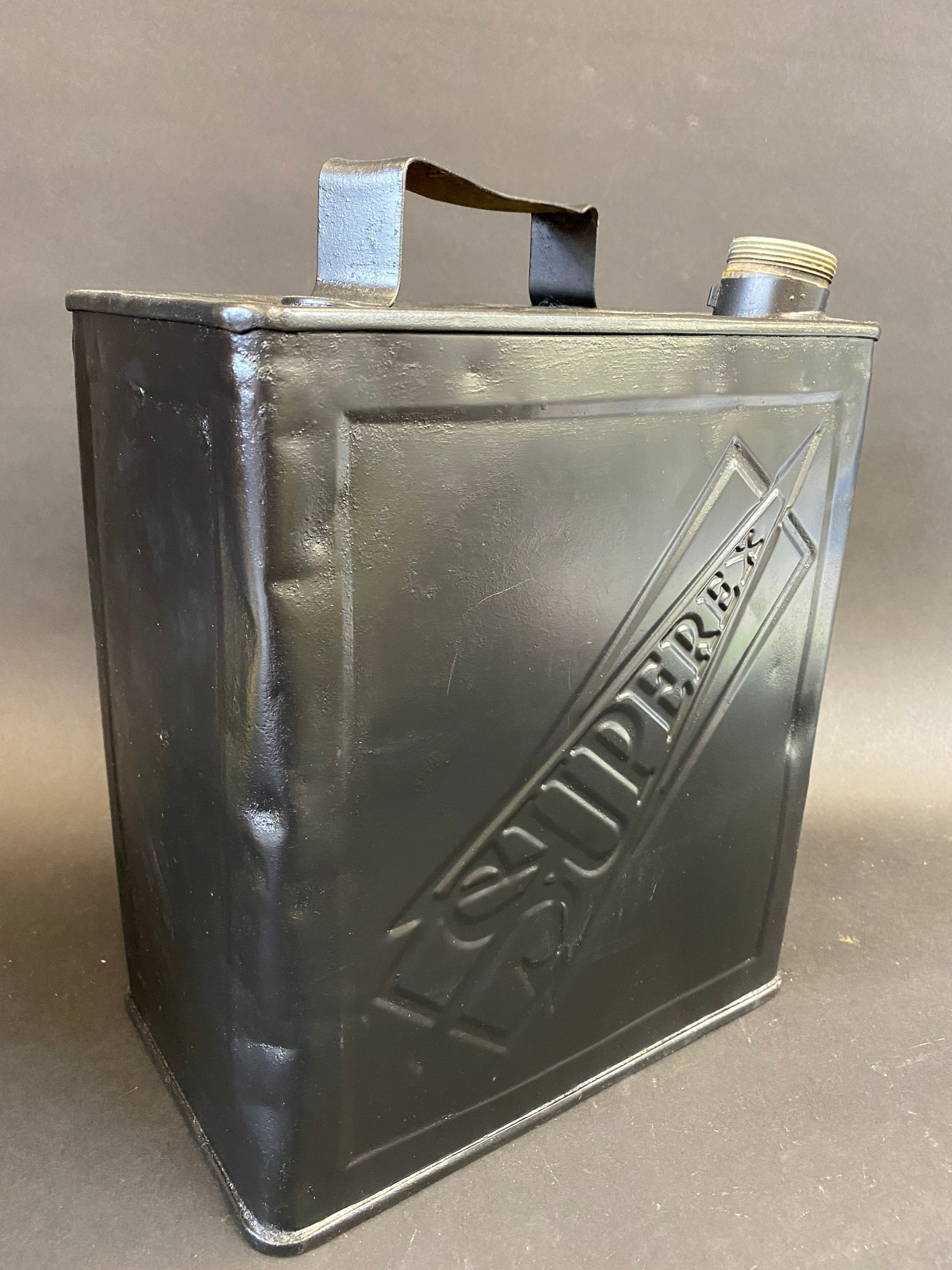 An Esuperex two gallon petrol can in straight condition. - Image 2 of 4